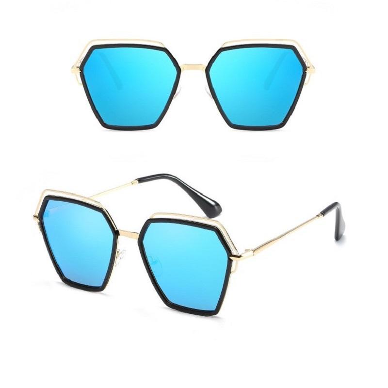 Retro Polygon Colorful Sunglasses