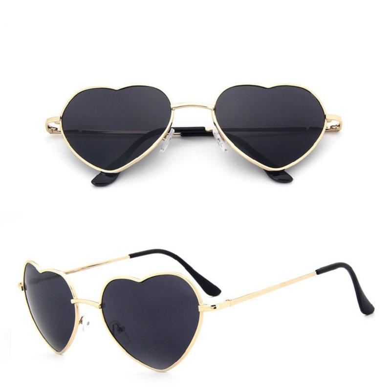 Heart Metal Sunglasses