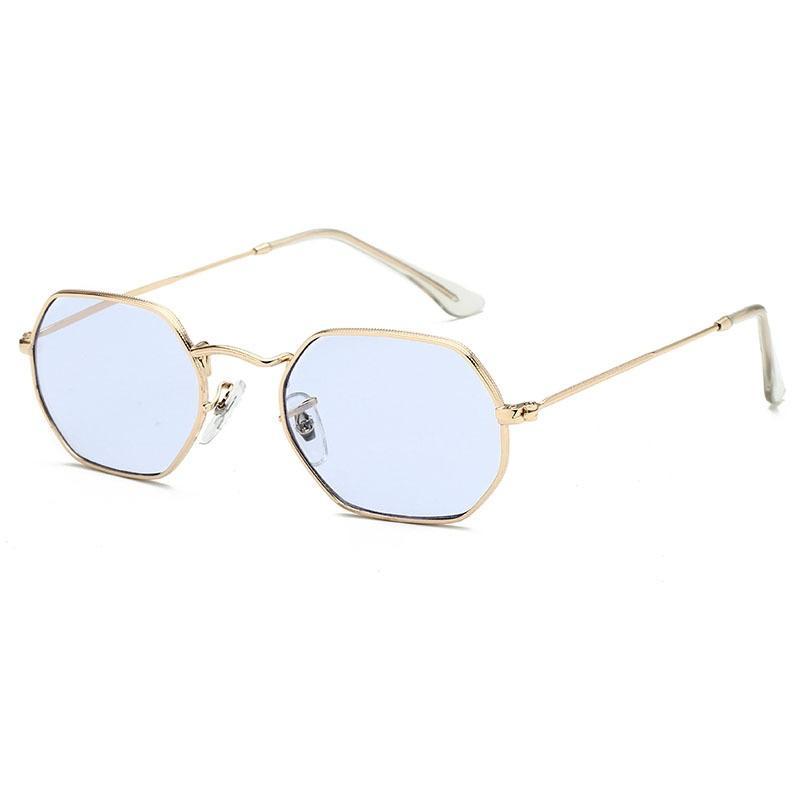 Retro Oval Sunglasses