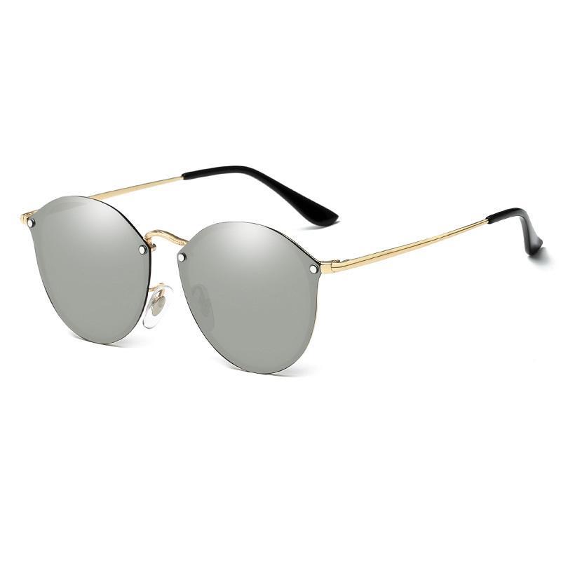 Ethna Frameless Wayfarer Sunglasses