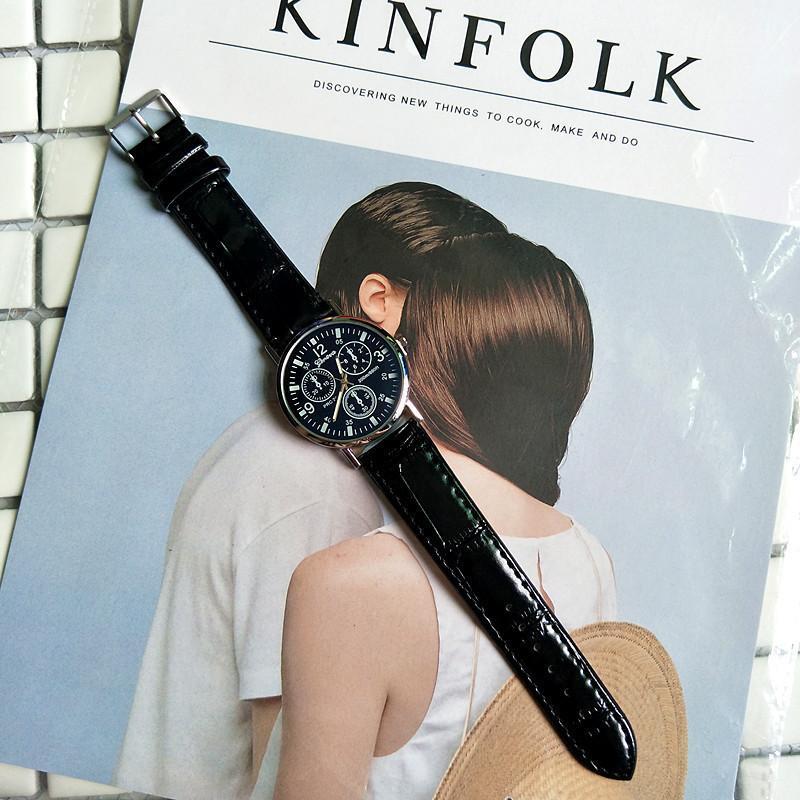 Fancy Leather Wrist Watch