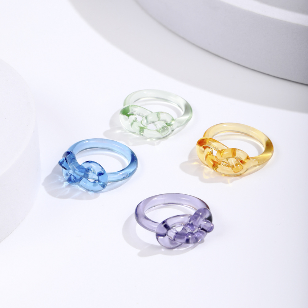 Aesthetic Alloy Round Rings for Charming Style