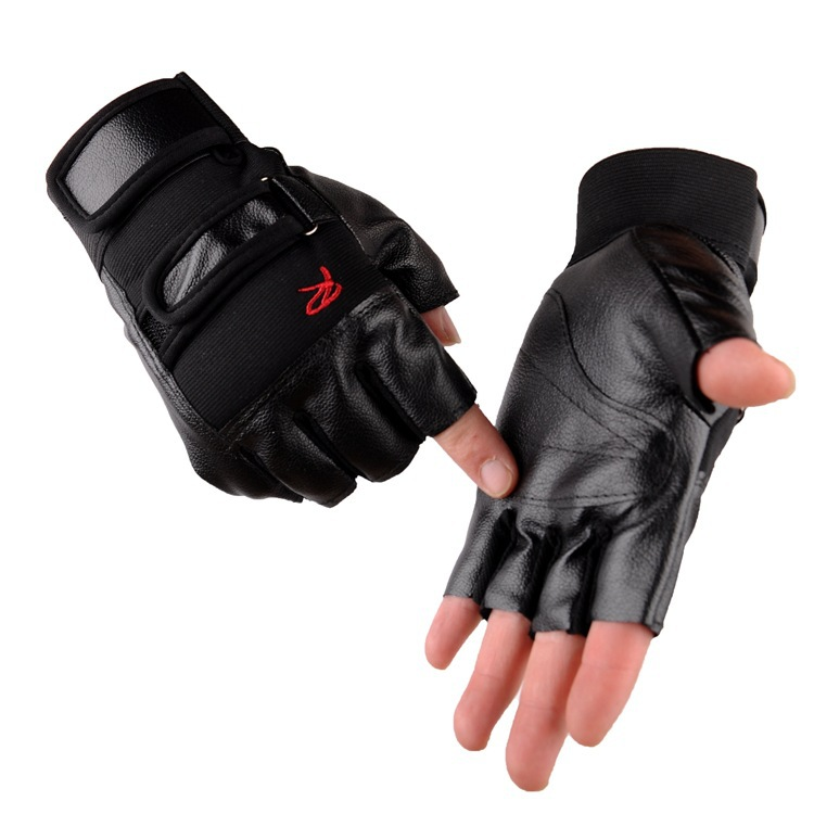 Breathable Half Finger Gloves for Exercise Activities