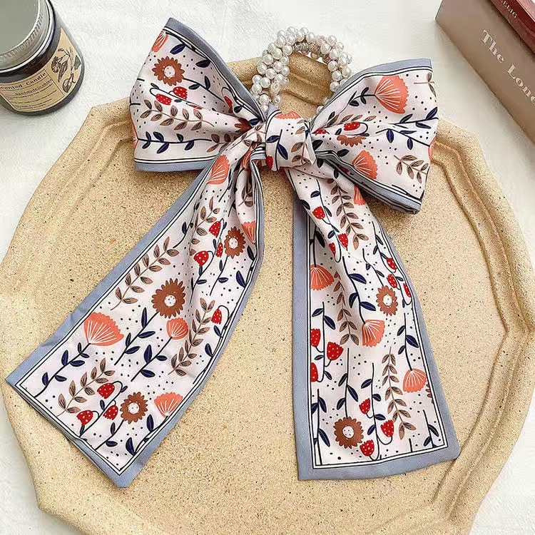 Sheeny Ribbon Hair Tie for Posh Hair Accessories