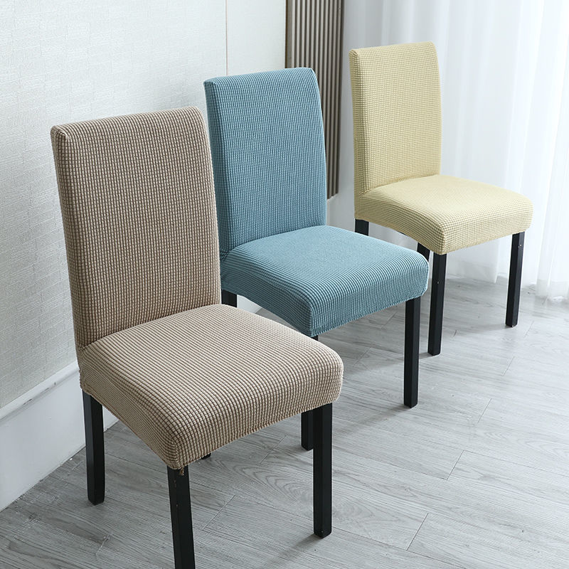 Basic Textured Chair Cover for Protecting Furniture from Scratch and Dust