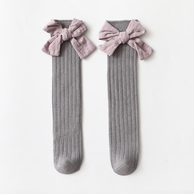 Cozy Combed Cotton Children Socks for Outdoor Playing
