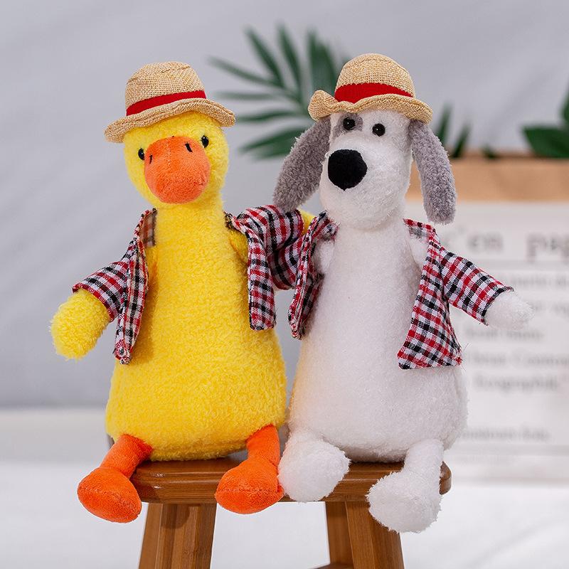 Kawaii Duck Plushie for Living Room Displays