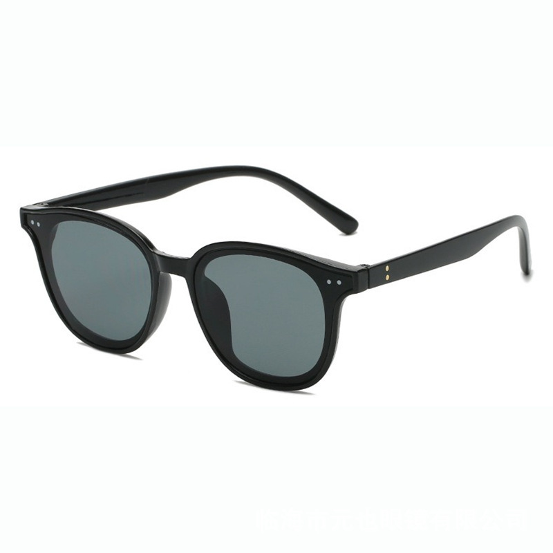 Stylish Colored Small Frame Sunglasses For Street Fashion