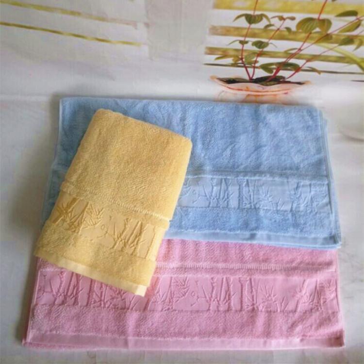 Soft Solid Color Cotton Bath Towels for Bathroom Essentials