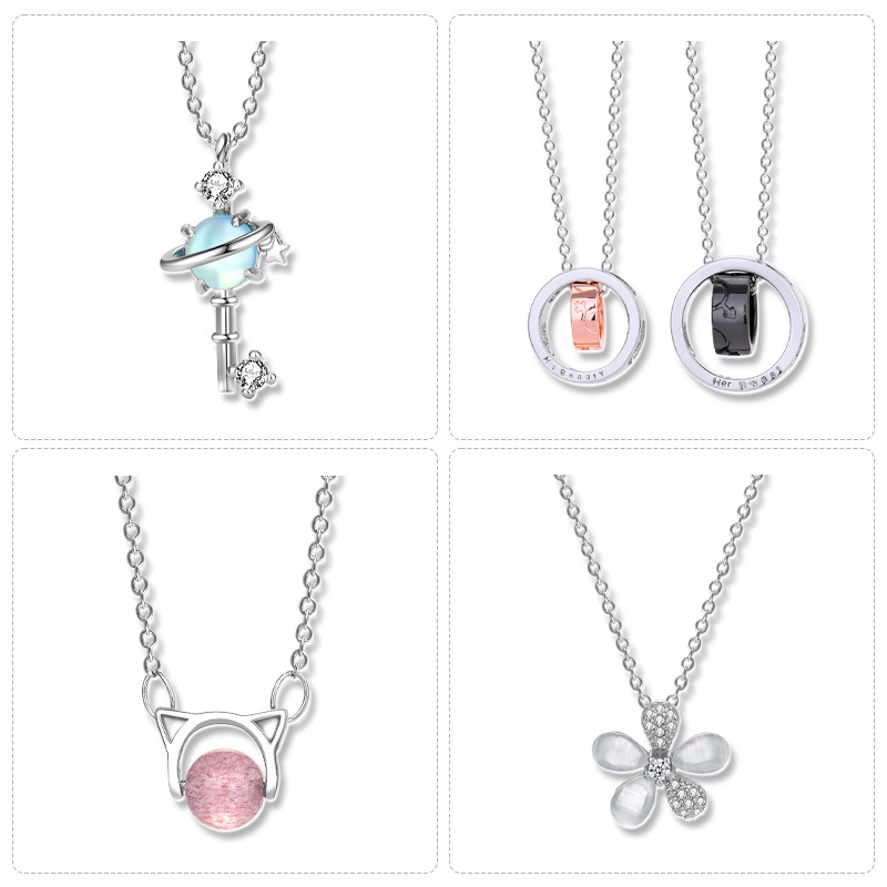 Desirable Silver-Plated Chain Necklace for Casual Affair Outfits
