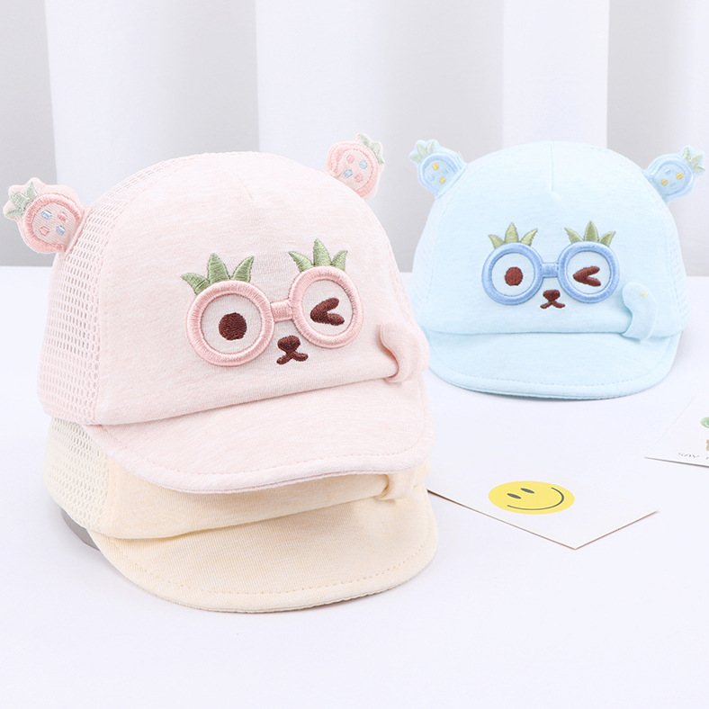 Adorable Cotton Baseball Cap with Smart Puppy Design for Summer Season with Kids