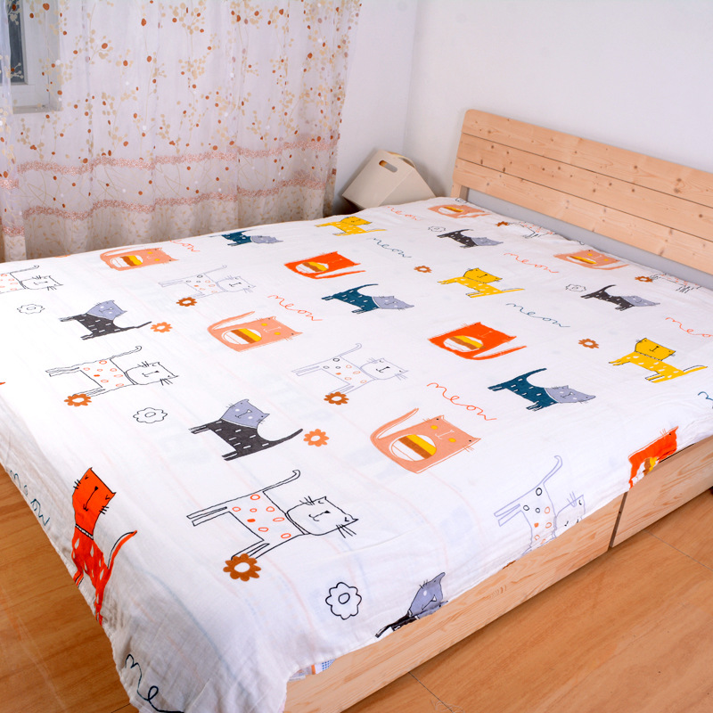 Cozy and Thin Bed Sheets for Summer Season Use