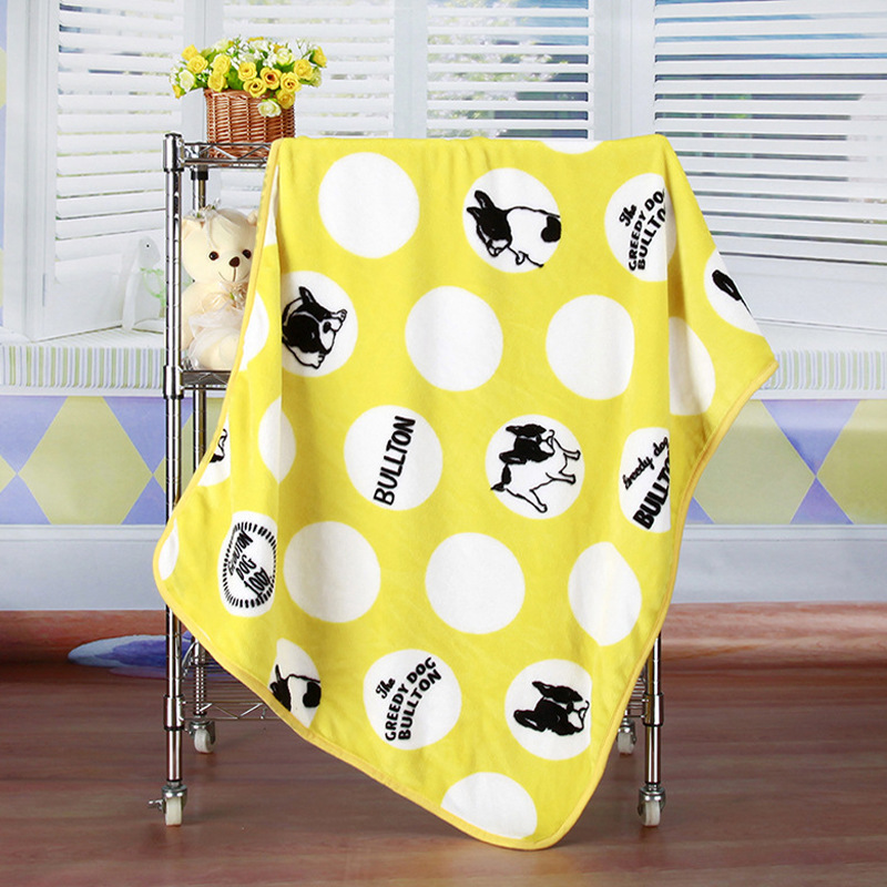 Cozy Soft Printed Pet Blanket for Pet Home Essentials