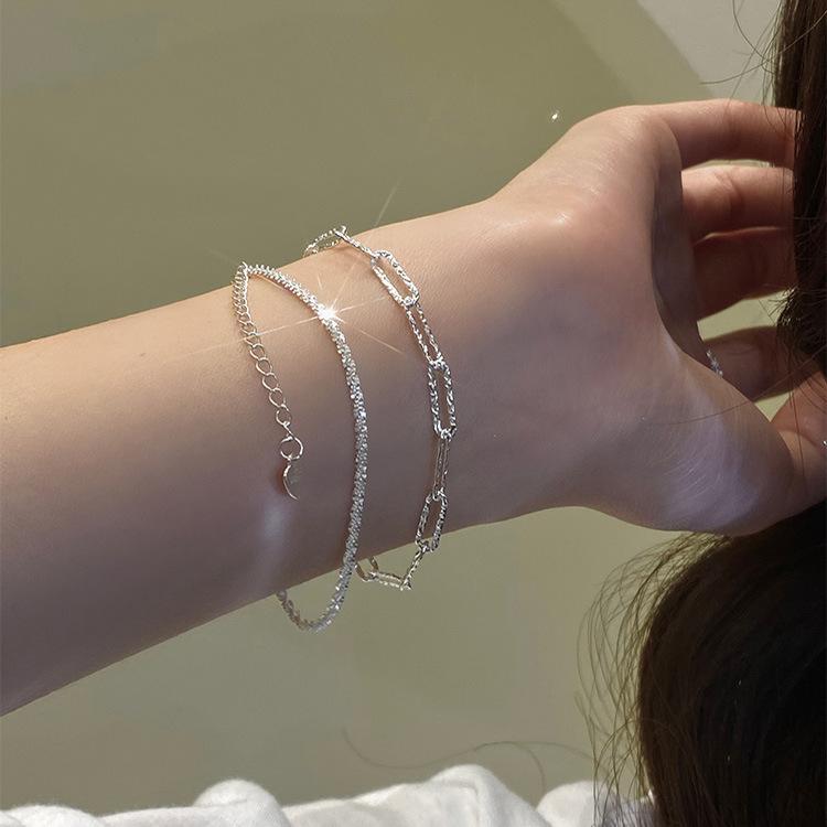 Shimmered Copper Bracelet for Friends Hangout