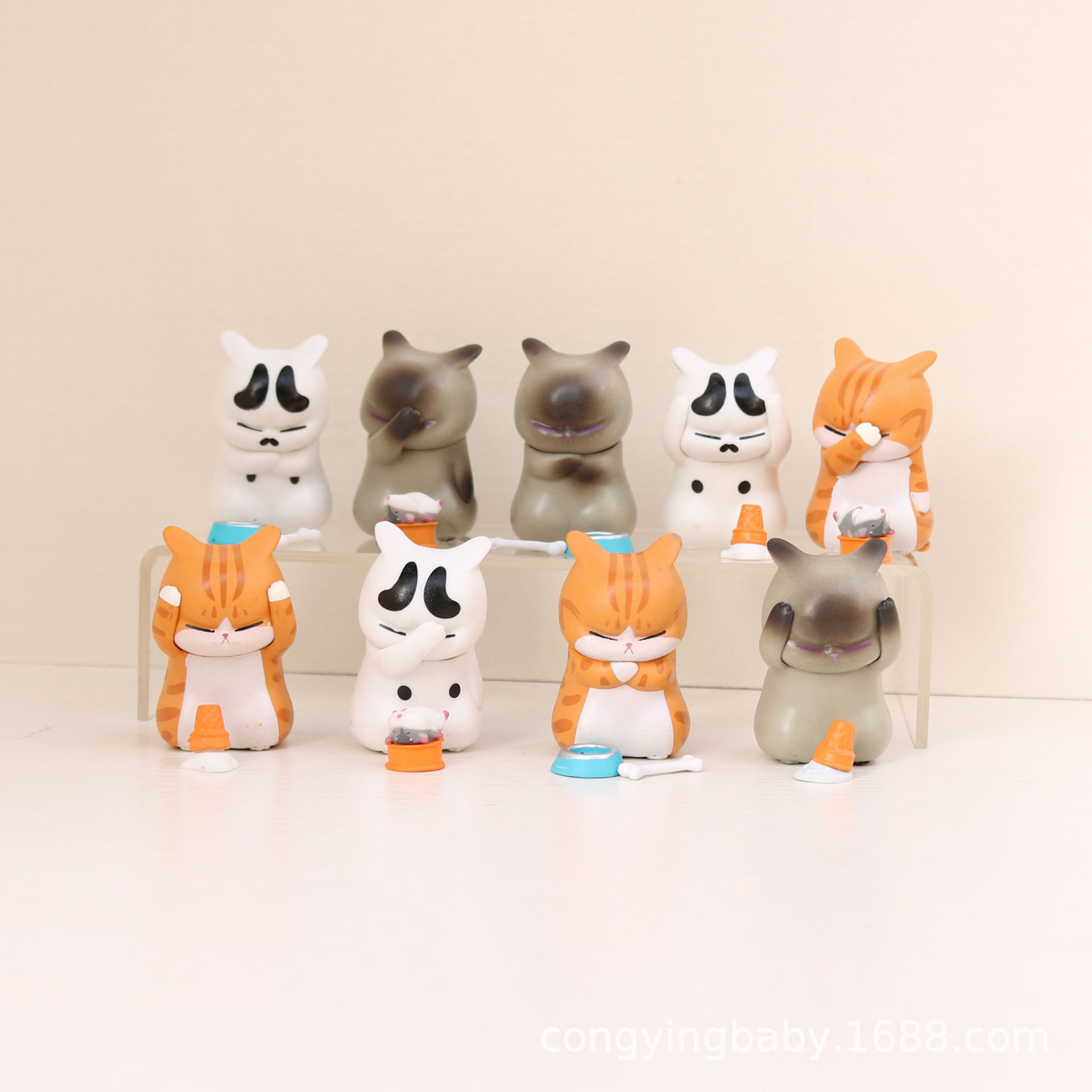 Super-Cute Animal Toy for Study Room Decorations