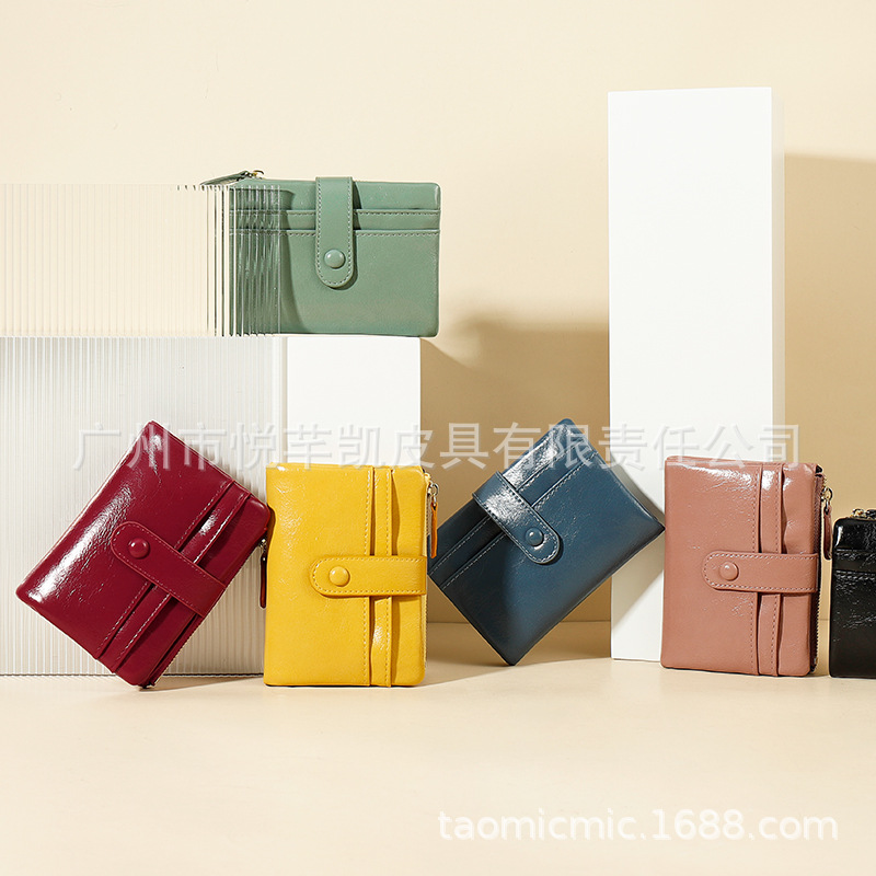 Stylish Faux Leather Bi-fold Wallet for Everyday Use