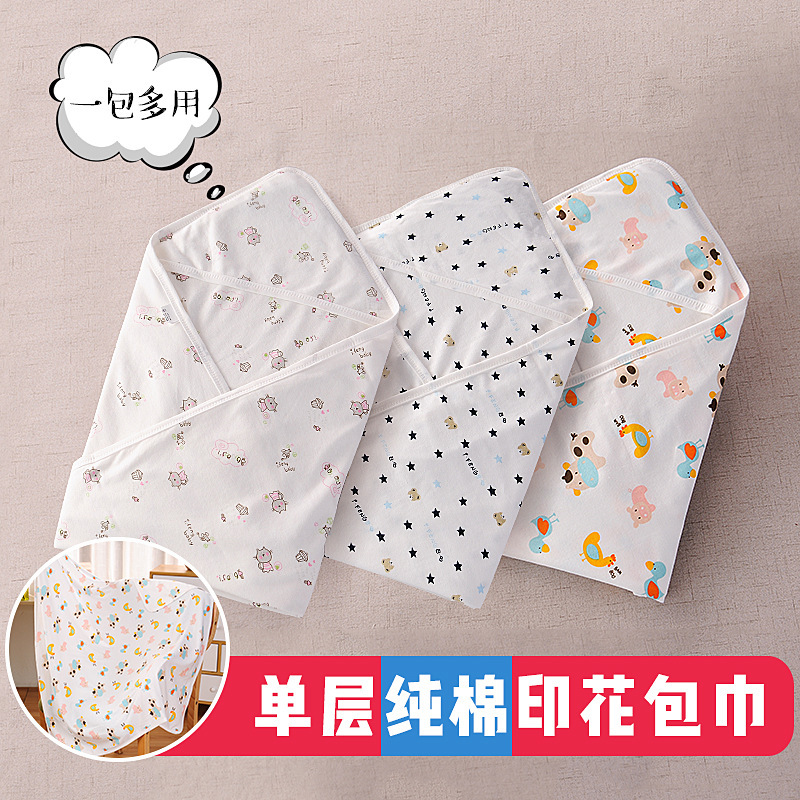 Adorable Mini Pattern Baby Blanket for Travelling