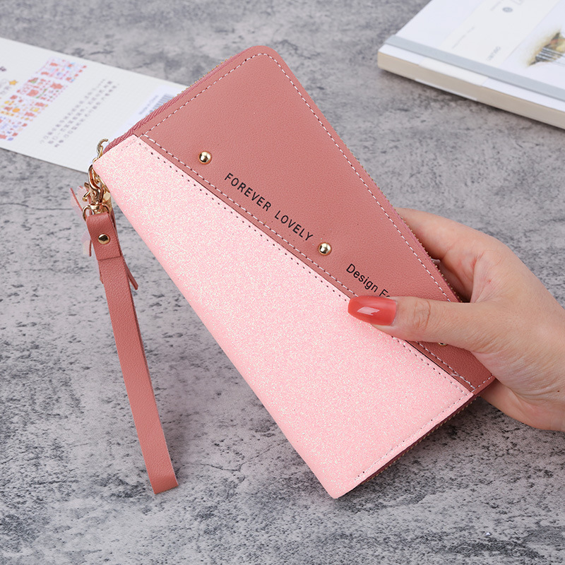 Slick Zipper Wallet for Safe Money Compartment