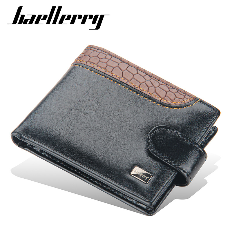 Practical Faux Leather Wallet for Carrying Cash and Cards