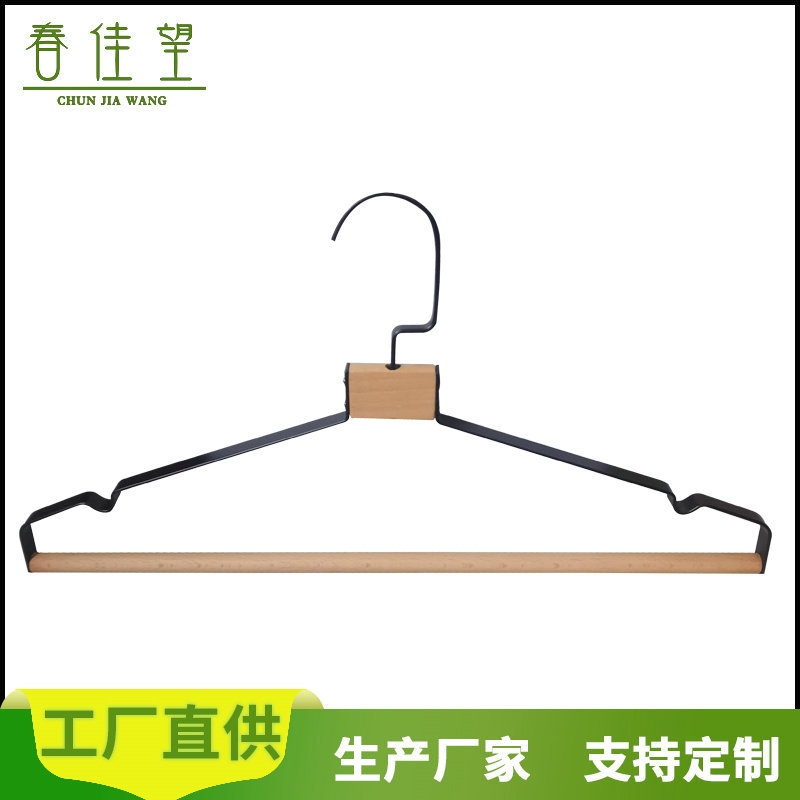Steel Wire Clothes Hanger for Cabinets and Wardrobe