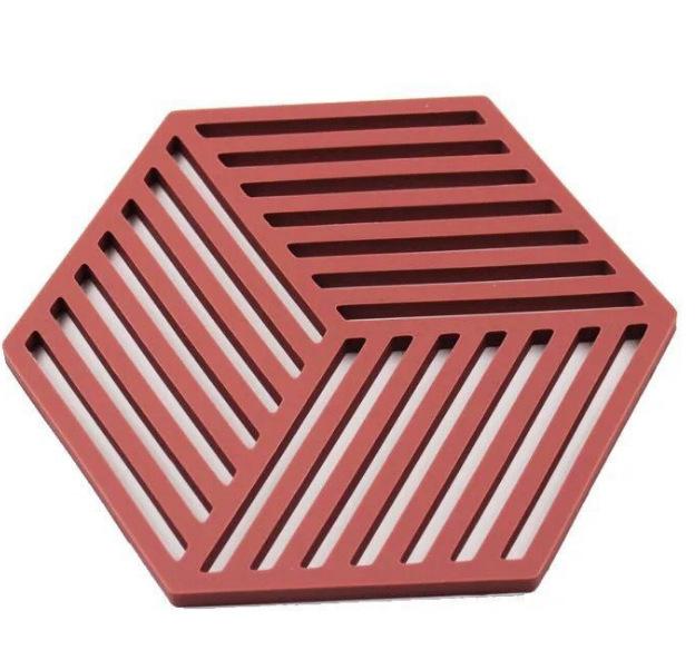 Amazing Hexagon Silicone Mat for Various Glasswares