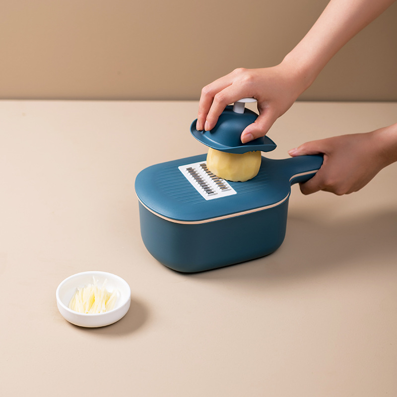 Multi-Purpose Vegetable Grater and Storage for Cooking Needs