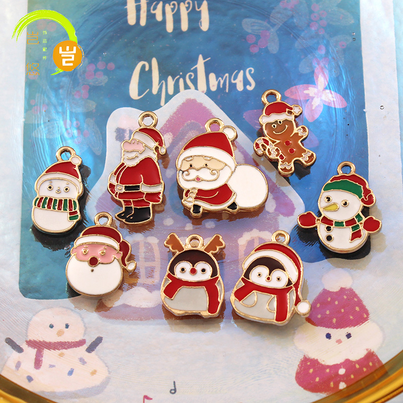 Cute Small Christmas Charms for DIY Jewelry