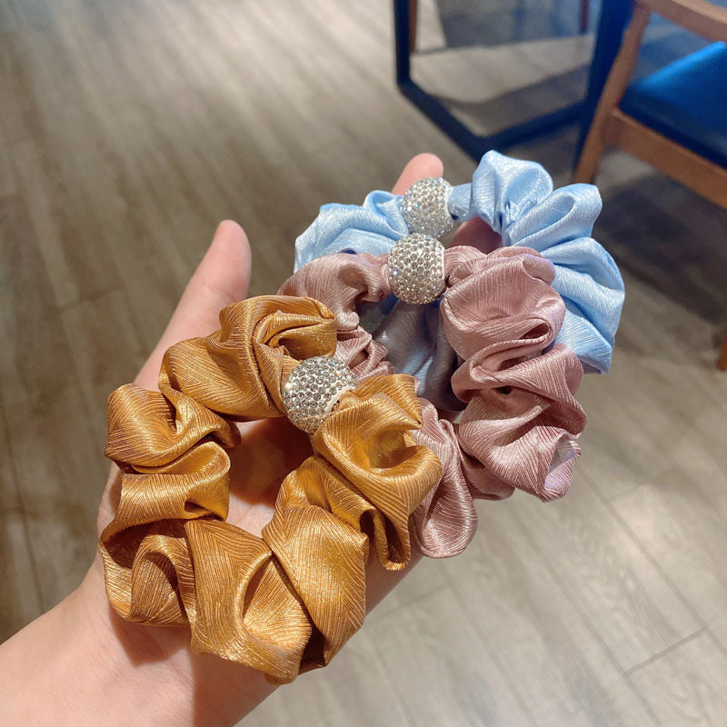 Elegant Candy Colored Scrunchie for Wearing with Chic Outfits
