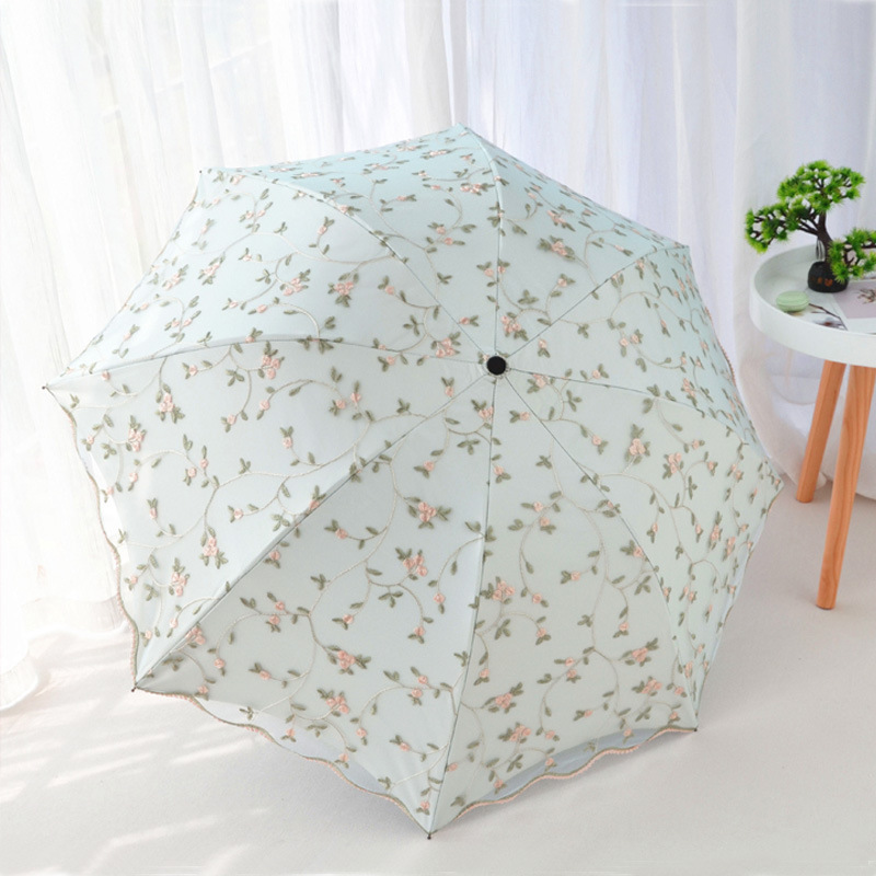Elegant Laced Umbrella for Protecting You from Ultraviolet Rays