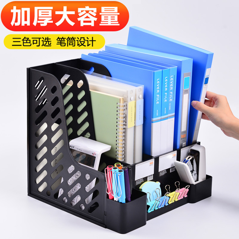 Durable Mesh File Organizer for Vertical and Horizontal Usage