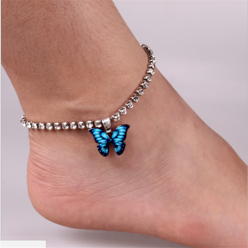 Lovely Butterfly Charm Anklet for Fashion