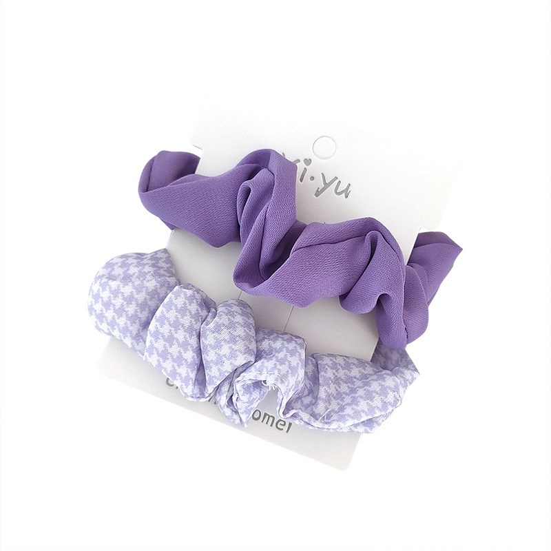 Posh Lovely Designed Scrunchies for Thick Ponytails