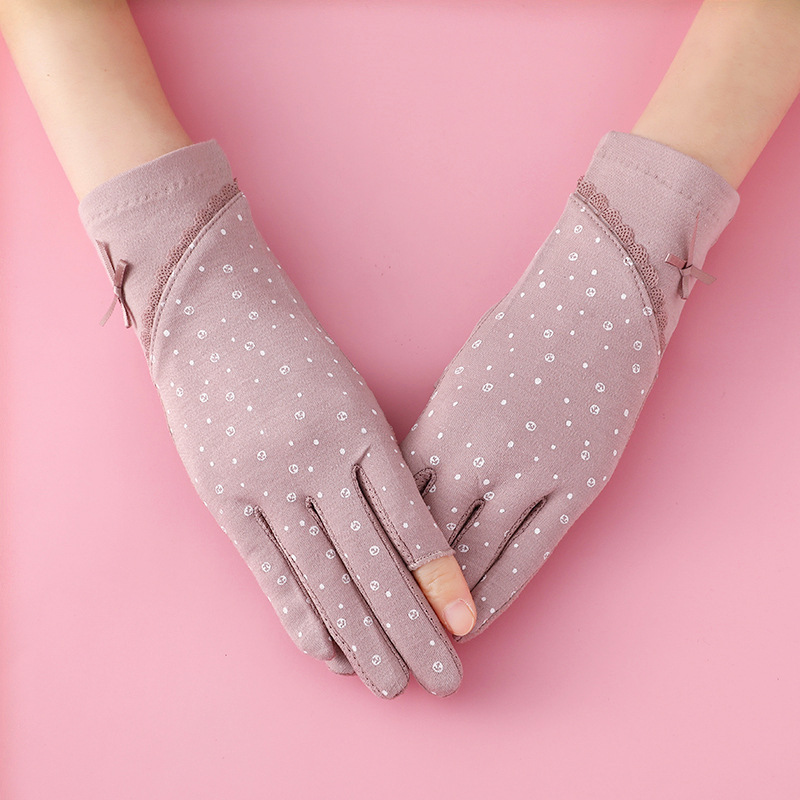 Lovely Anti-Ultraviolet Gloves for Sun Protection
