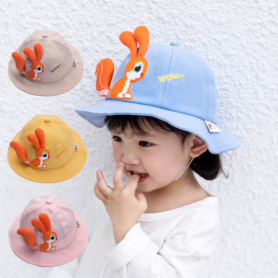 Adorable Bucket Hat for Kids Use in the Summer