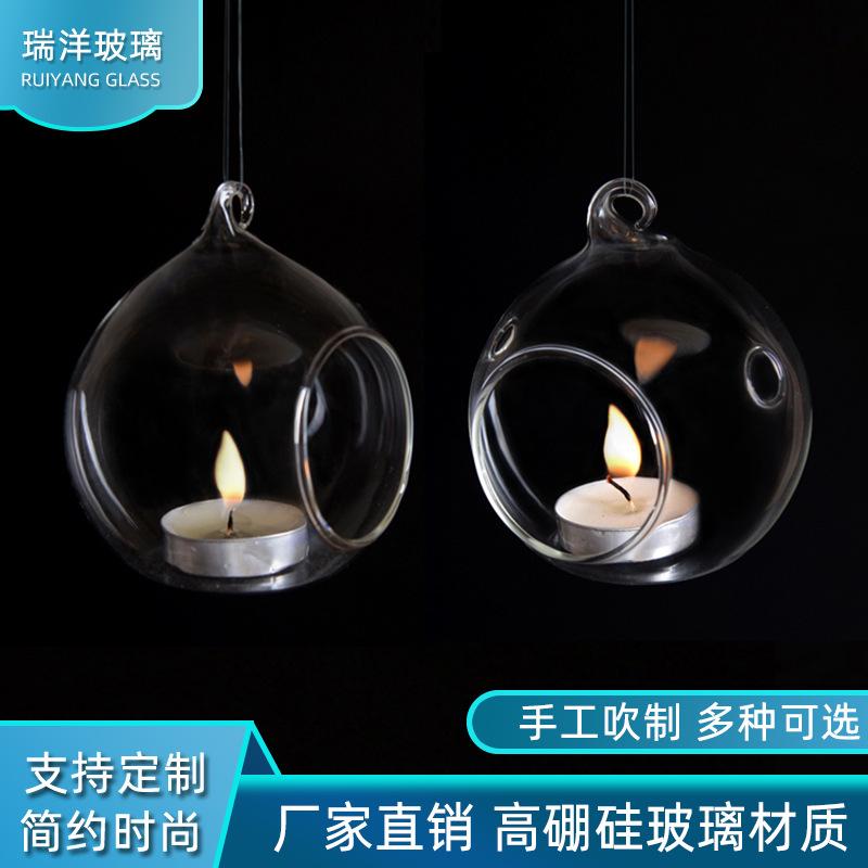 Hanging Transparent Candle Holder for Halloween Decoration