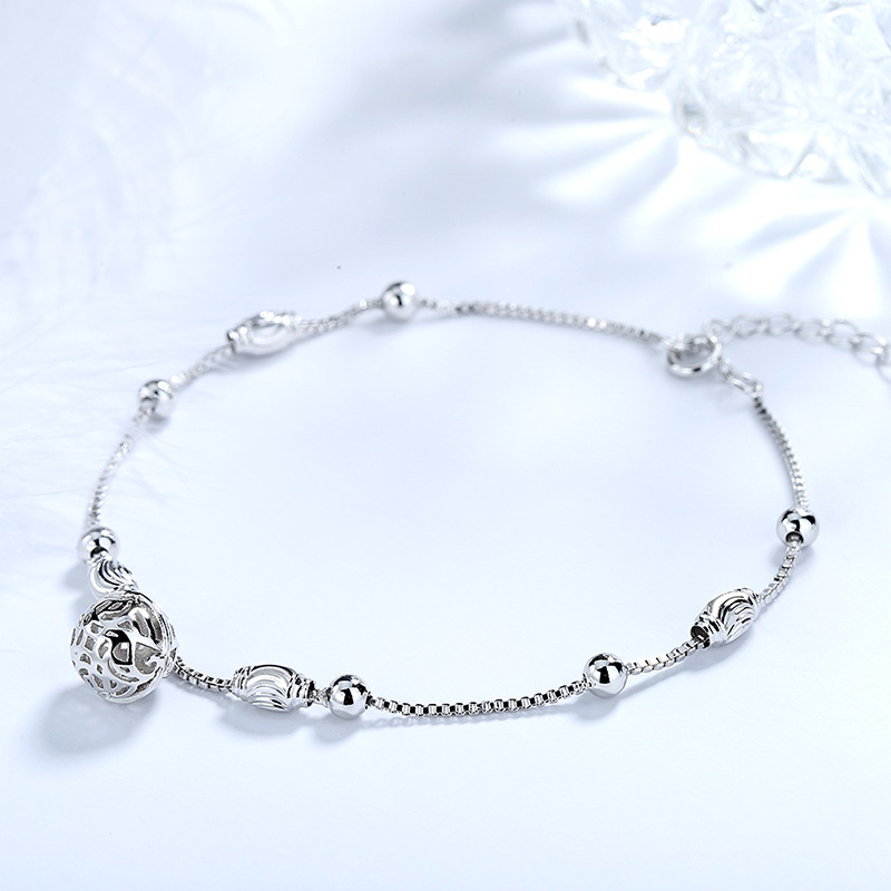 Pretty Palace Bell Anklet for Light Luxury Fashion Wear