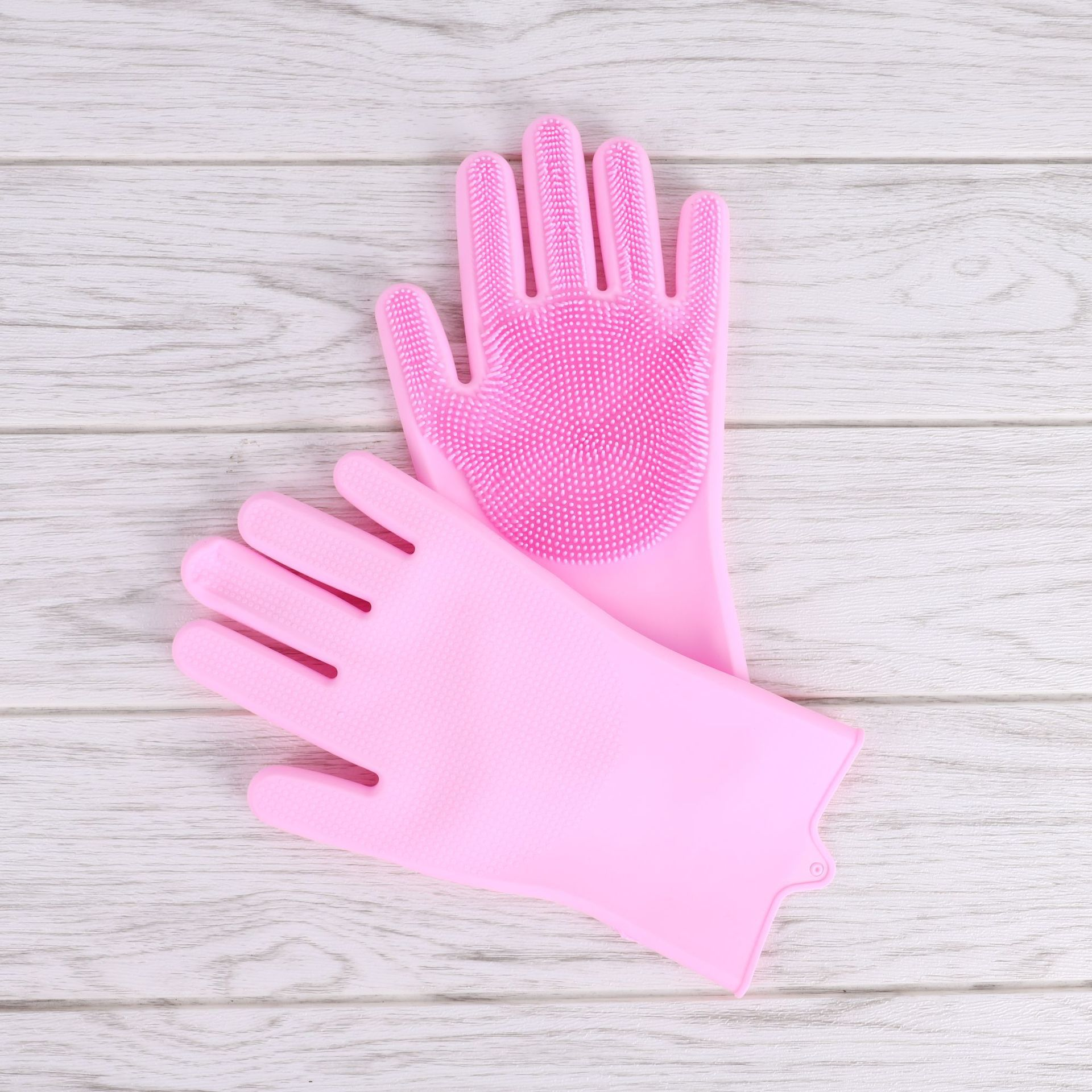 Wear-resistant Cleaning Gloves for Household Use