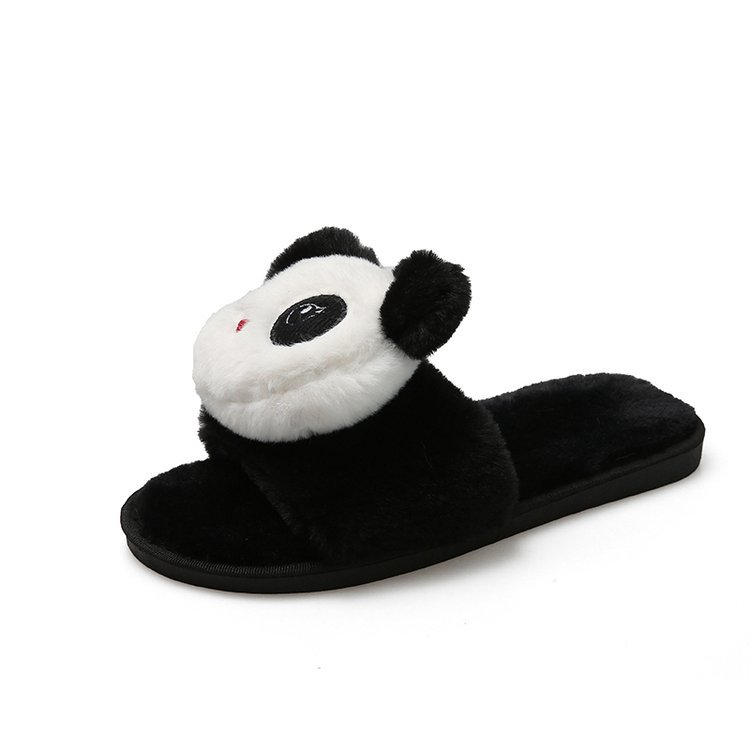 Fluffy Slippers with Plush Design for Chilling at Home