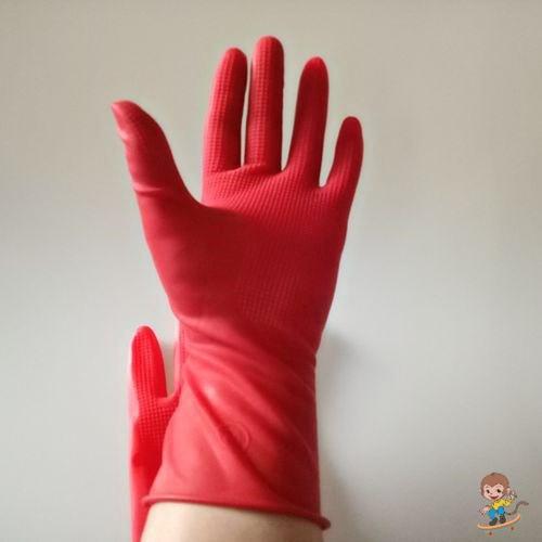 Elastic Latex Gloves for Heavy Dishwashing