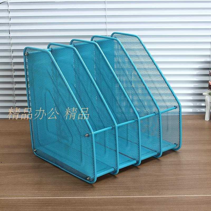 Reliable Quadruple File Rack for Employees Documents