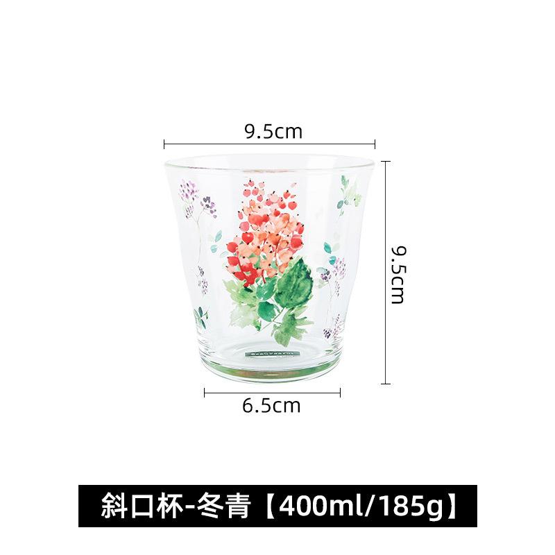 Alluring Glass Cup for Home Everyday Use