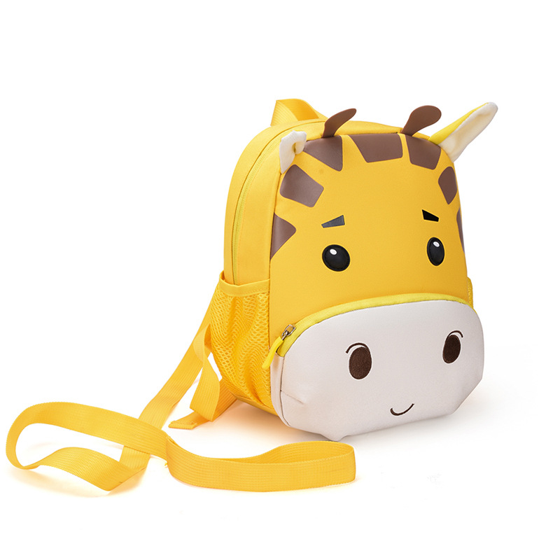 Cute and Useful Animal Design Backpack Bag with Leash for Shopping Mall Strolling