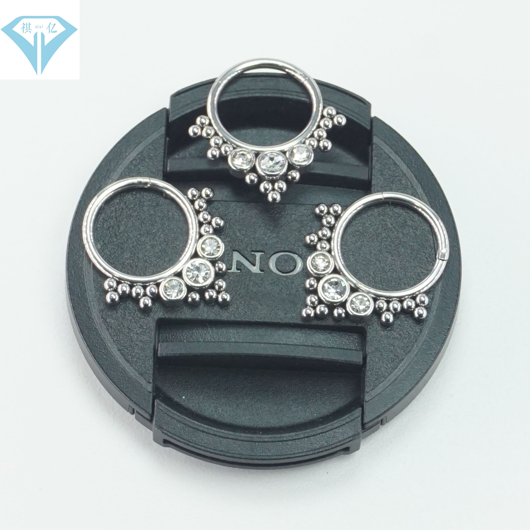 Glamorous Stainless Steel Rings for Night Out with Friends