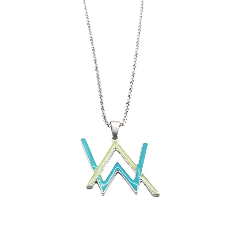 Luminous Necklace for Electronic and Night Club Style Outfits