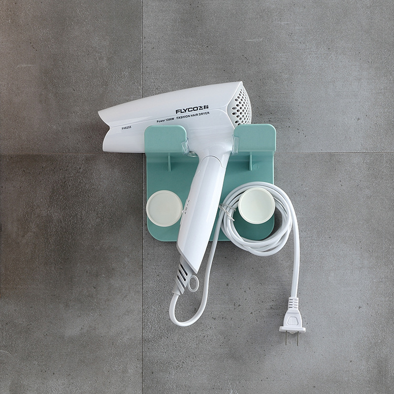 Modern Hair Dryer Rack for Fully Furnished Bathrooms