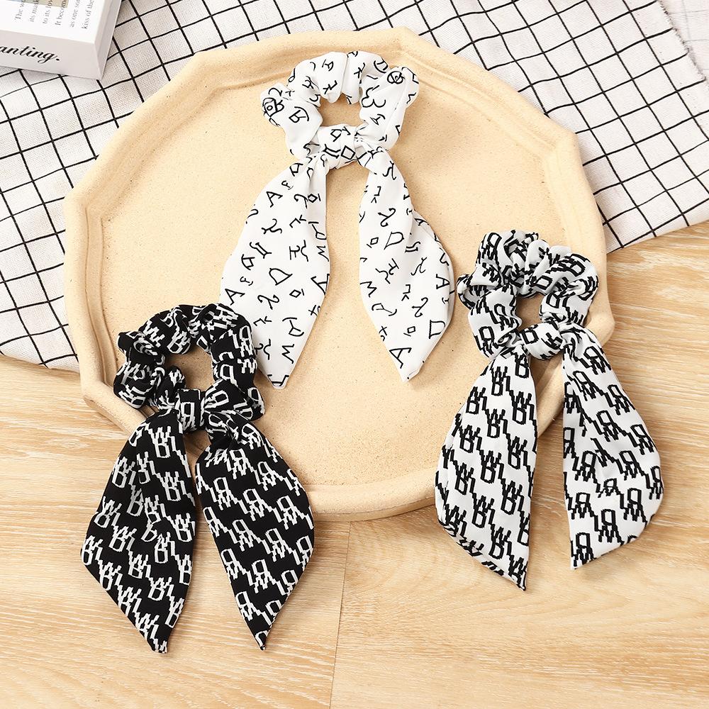Trendy Scarf Hair Scrunchie for Ladies
