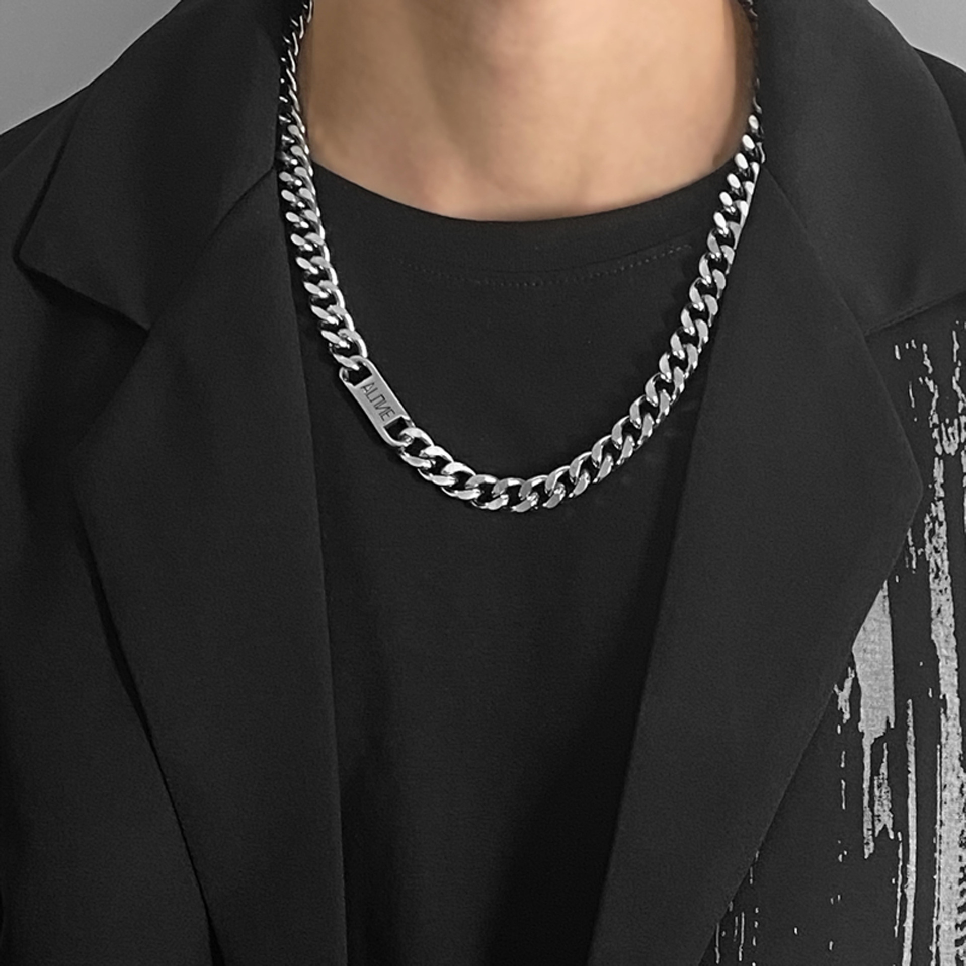 Western Style Necklace for Hip-hop Men's Fashion