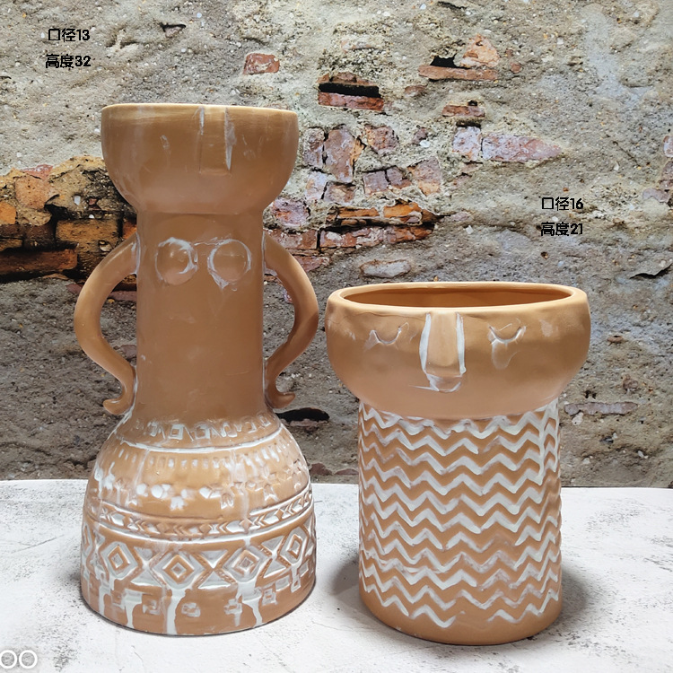 Aztec Large Potteries for Ethnic Home Decor