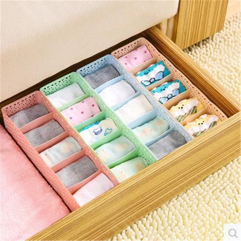Jacked Drawer Storage Box for Organizing Socks