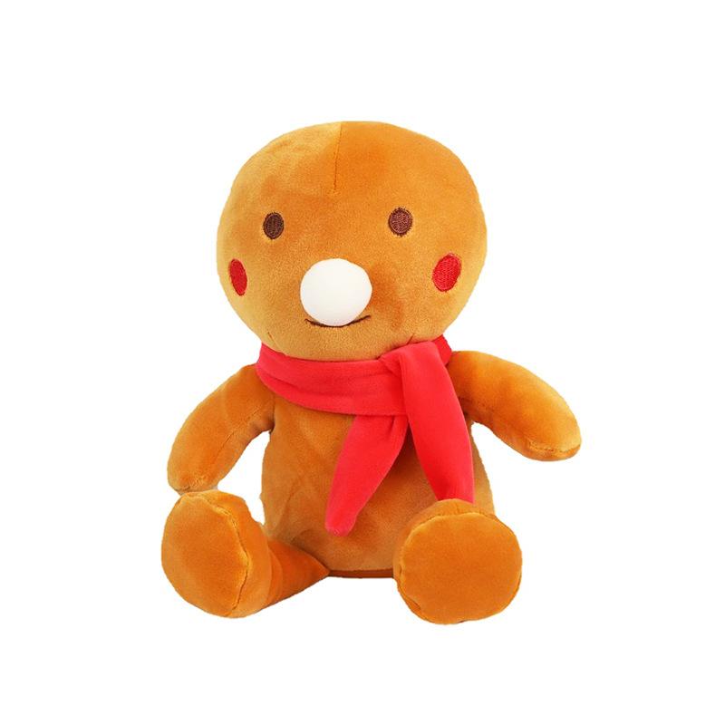 Cute Gingerbread Man Pillow for Christmas Gift Ideas